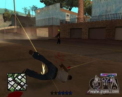 COSMOS C-HUD for GTA San Andreas third screenshot