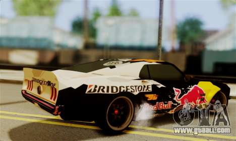 Ford Mustang RTR RedBull for GTA San Andreas left view