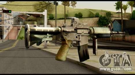 SOPMOD from Metal Gear Solid v3 for GTA San Andreas second screenshot