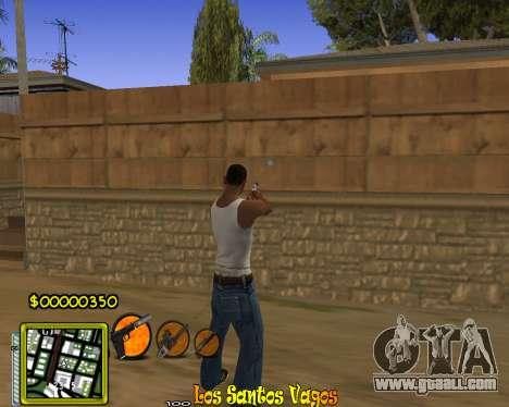 C-HUD Vagos Gang for GTA San Andreas second screenshot