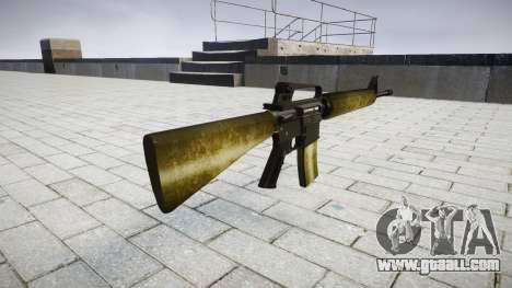 The M16A2 rifle olive for GTA 4 second screenshot