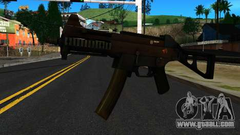 UMP9 from Battlefield 4 v2 for GTA San Andreas