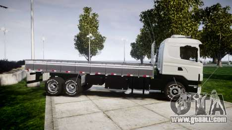 Scania 124G 400 for GTA 4 left view