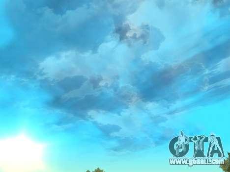 Realistic sky for GTA San Andreas second screenshot