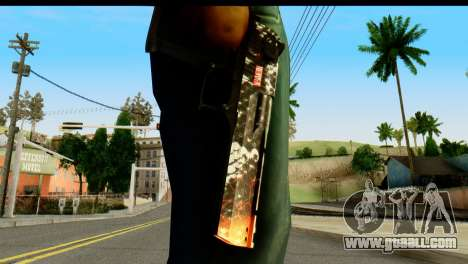 Kill Em All Desert Eagle for GTA San Andreas third screenshot