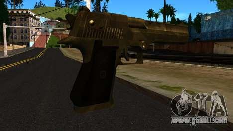 Desert Eagle from GTA 4 for GTA San Andreas second screenshot