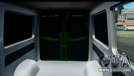 Mercedes-Benz Sprinter PrivatBank for GTA San Andreas inner view