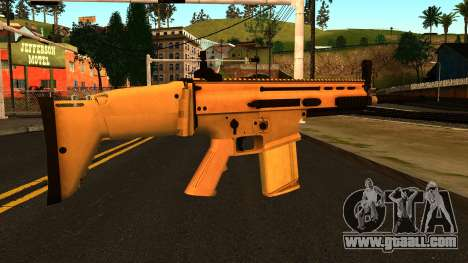 FN SCAR-H from Medal of Honor: Warfighter for GTA San Andreas second screenshot