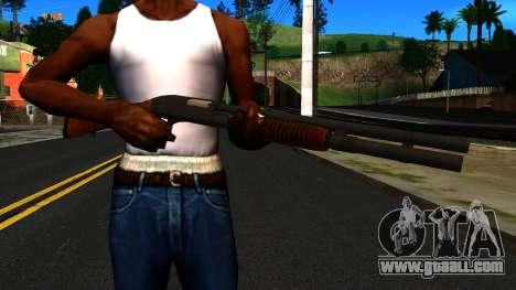 Wooden MP-133 Silver for GTA San Andreas third screenshot