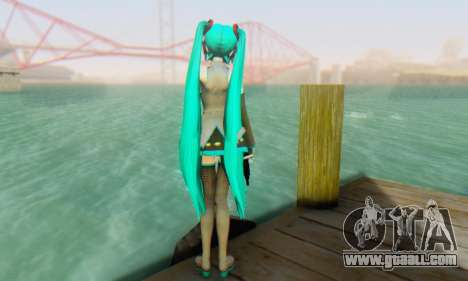 Hatsune Miku Dreamy Theater for GTA San Andreas fifth screenshot