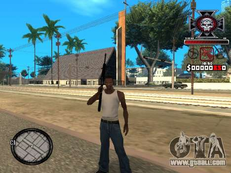 C-HUD for Ghetto for GTA San Andreas