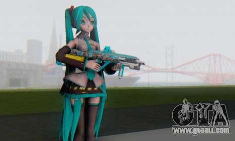 Hatsune Miku Dreamy Theater for GTA San Andreas