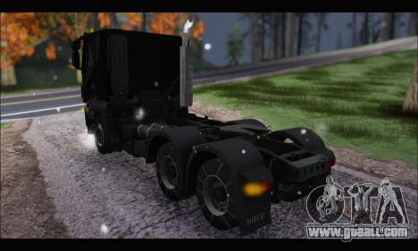 Iveco Trakker 2014 Snow (IVF & ADD) for GTA San Andreas back left view