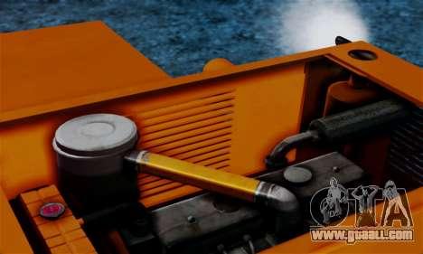 FMZ BIZON Super Z056 1985 Orange for GTA San Andreas inner view