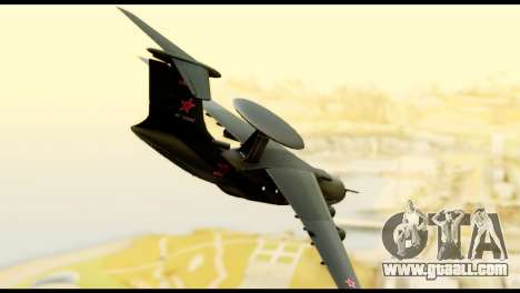 Beriev A-50 Russian Air Force for GTA San Andreas left view
