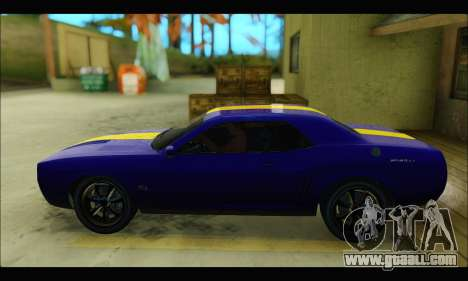 Bravado Gauntlet (GTA V) for GTA San Andreas back left view
