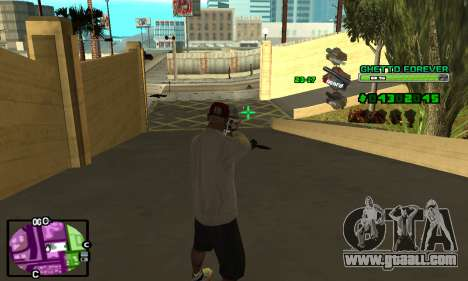C-HUD Ghetto 4ever for GTA San Andreas forth screenshot
