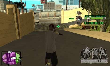 C-HUD Ghetto 4ever for GTA San Andreas forth screenshot