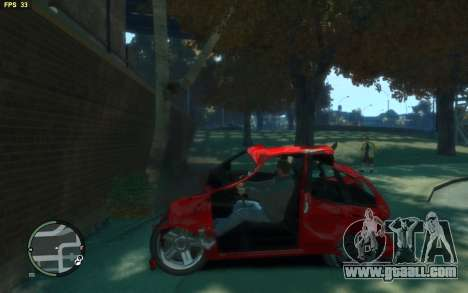 Big Car Damage for GTA 4 second screenshot