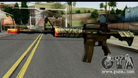 Kill Em All M4 for GTA San Andreas