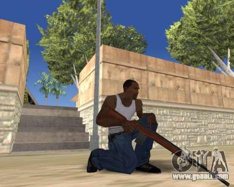 HD Weapon Pack for GTA San Andreas ninth screenshot