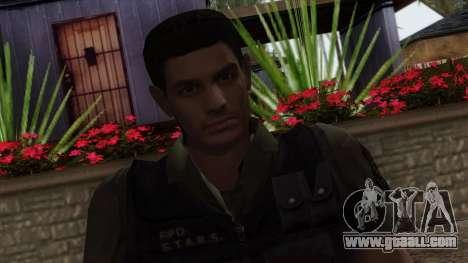 Resident Evil Skin 2 for GTA San Andreas third screenshot
