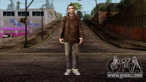 GTA 4 Skin 49 for GTA San Andreas