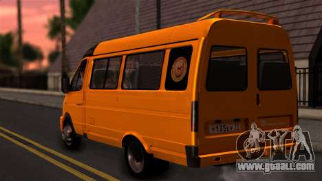 GAZelle 3221 2007 for GTA San Andreas left view