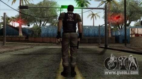 Resident Evil Skin 2 for GTA San Andreas second screenshot