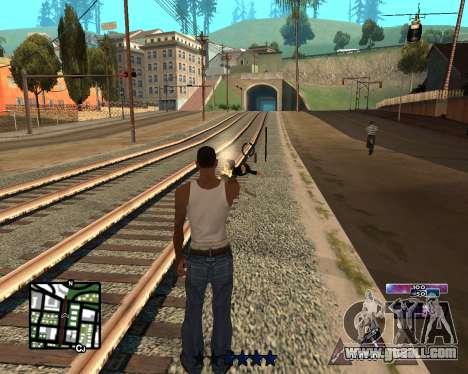 COSMOS C-HUD for GTA San Andreas