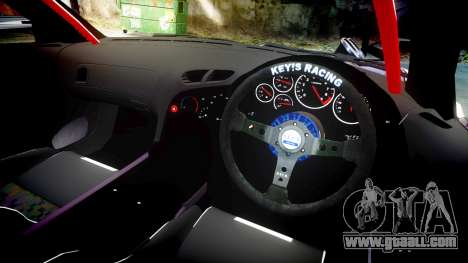 Mazda RX-7 Rocket Bunny MadMake for GTA 4 back view