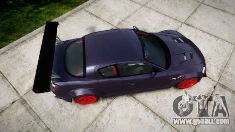 Mazda RX-8 Duck Edition for GTA 4 right view