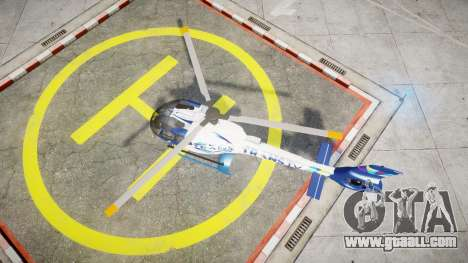 Eurocopter EC130 B4 TRANS TV for GTA 4 right view