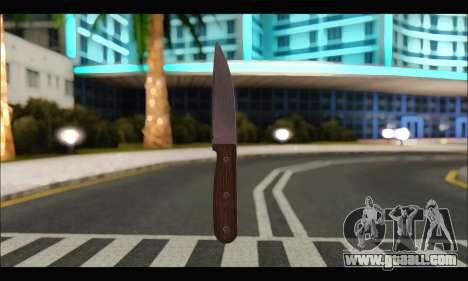 Knife Romanian CR1 for GTA San Andreas
