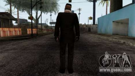 Resident Evil Skin 6 for GTA San Andreas second screenshot