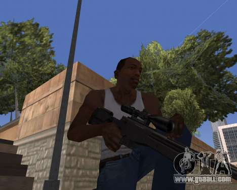 HD Weapon Pack for GTA San Andreas second screenshot