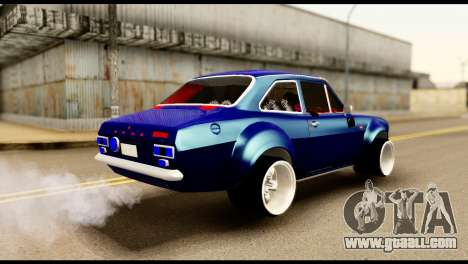 Ford Escort MK1 Modifive for GTA San Andreas back left view