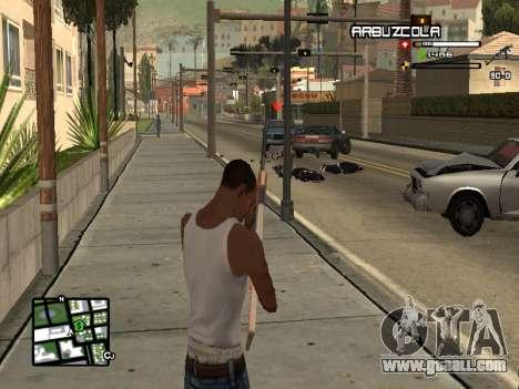 CLEO HUD by SampHack v.20 for GTA San Andreas third screenshot