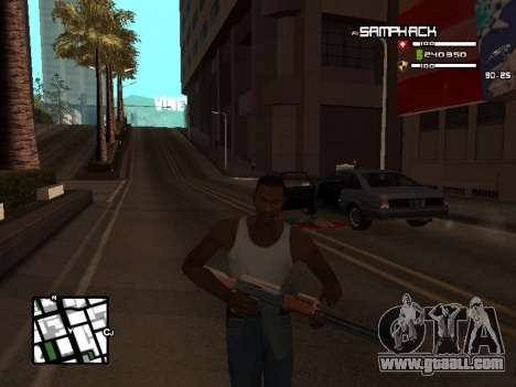 С-HUD by SampHack v.21 for GTA San Andreas third screenshot
