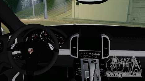Porsche Cayenne Turbo 2012 for GTA San Andreas right view