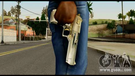 Desert Eagle from Max Payne for GTA San Andreas third screenshot