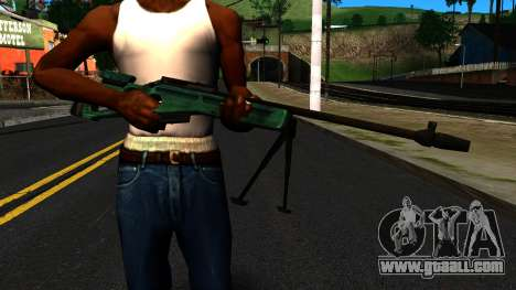 SV-98 with a Bipod and no rear Sight for GTA San Andreas third screenshot