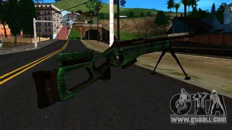 SV-98 with a Bipod and no rear Sight for GTA San Andreas second screenshot