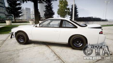 Nissan Silvia S14 Missile for GTA 4 left view