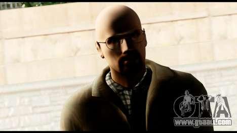 Heisenberg from Breaking Bad for GTA San Andreas third screenshot