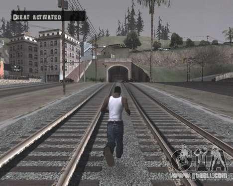 Colormod High Black for GTA San Andreas forth screenshot