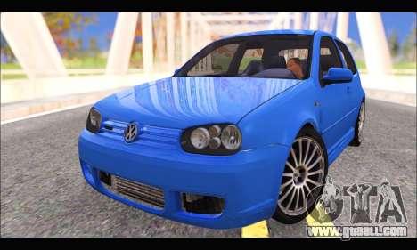VW Golf R32 - Stock for GTA San Andreas