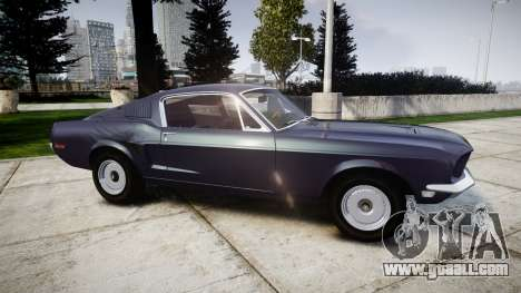 Ford Mustang GT Fastback 1968 Auto Drag III for GTA 4 left view