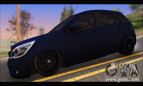 Chevrolet Agile Tunning for GTA San Andreas left view