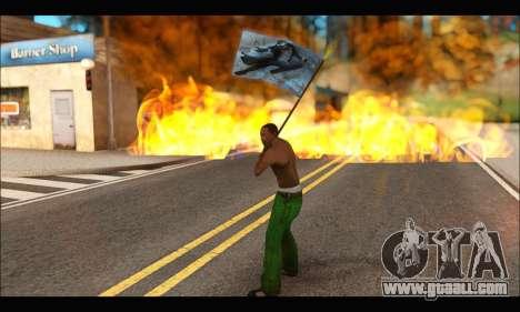 Flag Spiderman Noir for GTA San Andreas forth screenshot